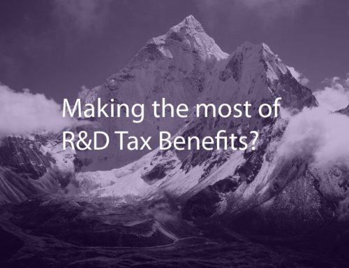 Are you making the most of your R&D Tax benefits?